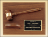 Click this Image to visit the Walnut Finish Gavels and Plaques category.