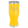 20 Oz Yellow Coated Pilsner Tumbler      20 oz. Polar Camel Pilsner Tumblers