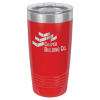 20 oz Red Coated Ringneck Tumbler with Lid    20 oz. Polar Camel Tumblers