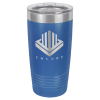 20 Oz Royal Blue Coated Ringneck Tumbler with Lid 20 oz. Polar Camel Tumblers