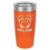 20 oz Orange Coated Ringneck Tumbler with Lid     20 oz. Polar Camel Tumblers