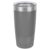 20 oz Dark Gray Coated Ringneck Tumbler with Lid       20 oz. Polar Camel Tumblers