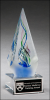 Arrow-Shaped Art Glass Sculpture Artistic Glass Awards