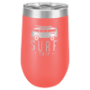 16 Oz Coral Coated Stemless Tumbler    Drinkware