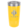 20 Oz Yellow Coated Ringneck Tumbler with Lid   Drinkware