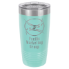 20 Oz Teal Coated Ringneck Tumbler with Lid Drinkware