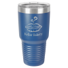 30 Oz Royal Blue Coated Ringneck Tumbler with Lid Drinkware