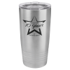 20 Oz Stainless Steel Ringneck Tumbler with Lid Drinkware