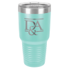 30 Oz Teal Coated Ringneck Tumbler with Lid Drinkware