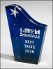 Shooting Star Acrylic Award Fire, Police and Safety