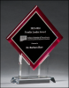 Diamond Series Acrylic with Stand - Red Fire, Police and Safety