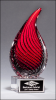 Droplet  - Art Glass Sculpture Fire, Police and Safety