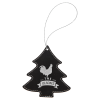 Leatherette Ornaments - 4 Styles in Black/Silver  Holidays