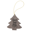 Leatherette Ornaments - 4 Styles in Gray Holidays
