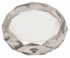 A Premier Crystal Diamond Cut Paperweight Paperweights
