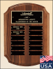 American Walnut Perpetual Plaque Perpetual Plaques Made in the USA