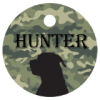 Round Pet Tag - Full Color    Pet Items