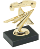 Another Best Seller! Pinewood Derby with Star on Marble Base Pinewood Derby
