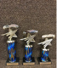 Set of 3 Economy All Star Figure Pinewood Derby Pinewood Derby and Scouts
