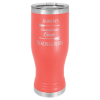 20 Oz Coral Coated Pilsner Tumbler       Promotional Items
