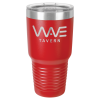30 Oz Red Coated Ringneck Tumbler with Lid Promotional Items