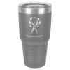 30 Oz Dark Gray Coated Ringneck Tumbler with Lid Promotional Items