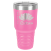 30 oz Pink Coated Ringneck Tumbler with Lid      Promotional Items