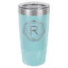 20 oz Light Blue Coated Ringneck Tumbler with Lid   Promotional Items