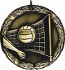 Volleyball - XR Medallion Volleyball and Throwball Medals