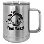 15 oz. Stainless Steel Polar Camel Mug 15 oz. Vacuum Insulated Mug with Slider Lid