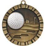 Golf - 3-D Medallion 3-D Medallion