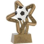Soccer/Futbol - Stars and Stripes A Best Seller! Star Resin Award