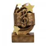 Star Swirl Music Award A Best Seller! Star Resin Award