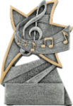 Music Jazz Award A Best Seller! Star Resin Award