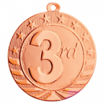 Starbrite 2.75 Medal - 3rd Place Academic Excellence Awards