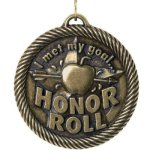 Met My Goal Honor Roll - Value Star Medal Academic Excellence Awards