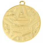 Superstar 2 Medal - Honor Roll Academic Excellence Awards
