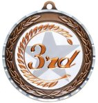 Diamond Cut Medal - 3rd Place Academic Excellence Awards