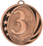 MidNite Star Medal - 3rd Place Academic Excellence Awards