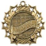 Perfect Attendance - Ten Star Medal Academic Excellence Awards