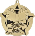 Readers are Leaders - Super Star Medal     Academic Subject Awards