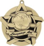 Language Arts - Super Star Medal    Academic Subject Awards