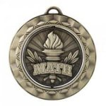 Math - Spinner Medallion  Academic Subject Awards
