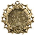 Math - Ten Star Medal Academic Subject Awards