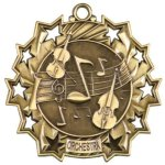 Music - Orchestra - Ten Star Medal Academic Subject Awards