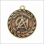 Math Problems Are No Problem - Scholastic Medal Series Academic Subject Awards