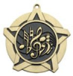 Music - Super Star Medal Academic Subject Awards