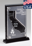 California Acrylic Award Acrylic Awards Made in the USA