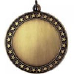 2.75 Star Blank Medal Custom Disc Holder All Award Blank Medals with Mylars