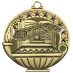 Perfect Attendance - Academic Performance Medals All Award Medals